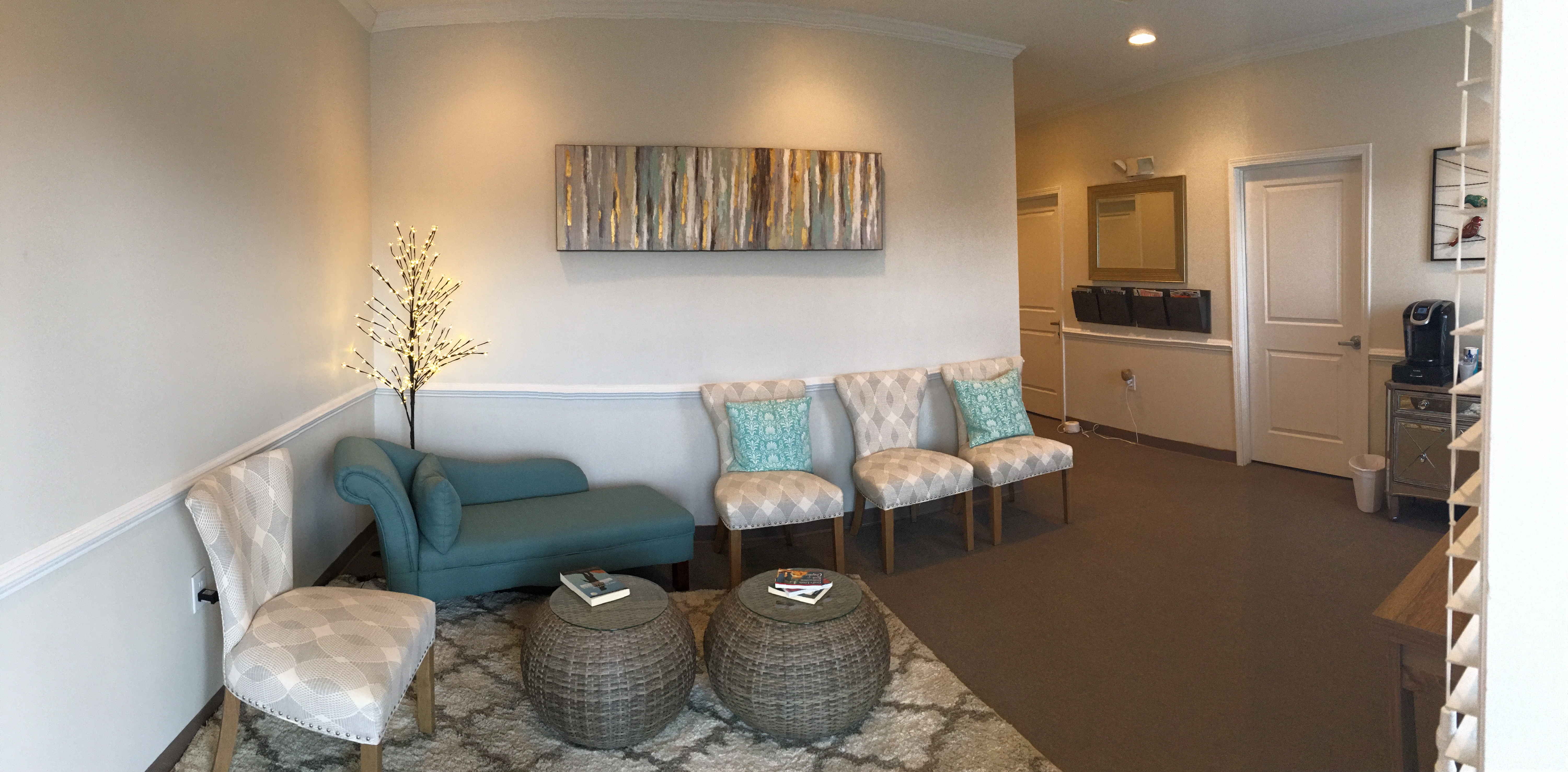 Upstate Family Therapy Lobby